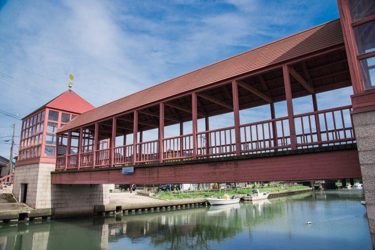新湊内川地区の東橋
