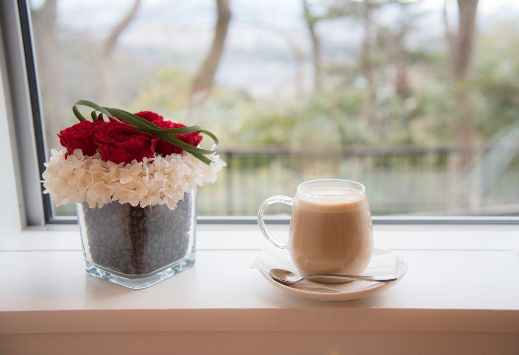 金沢・卯辰山のカフェ「ひよこまめ」
