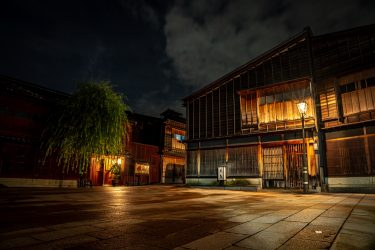 8月の写真教室のご案内【夜景撮影・新湊内川写真教室】