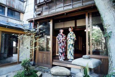 金沢町家での着物撮影
