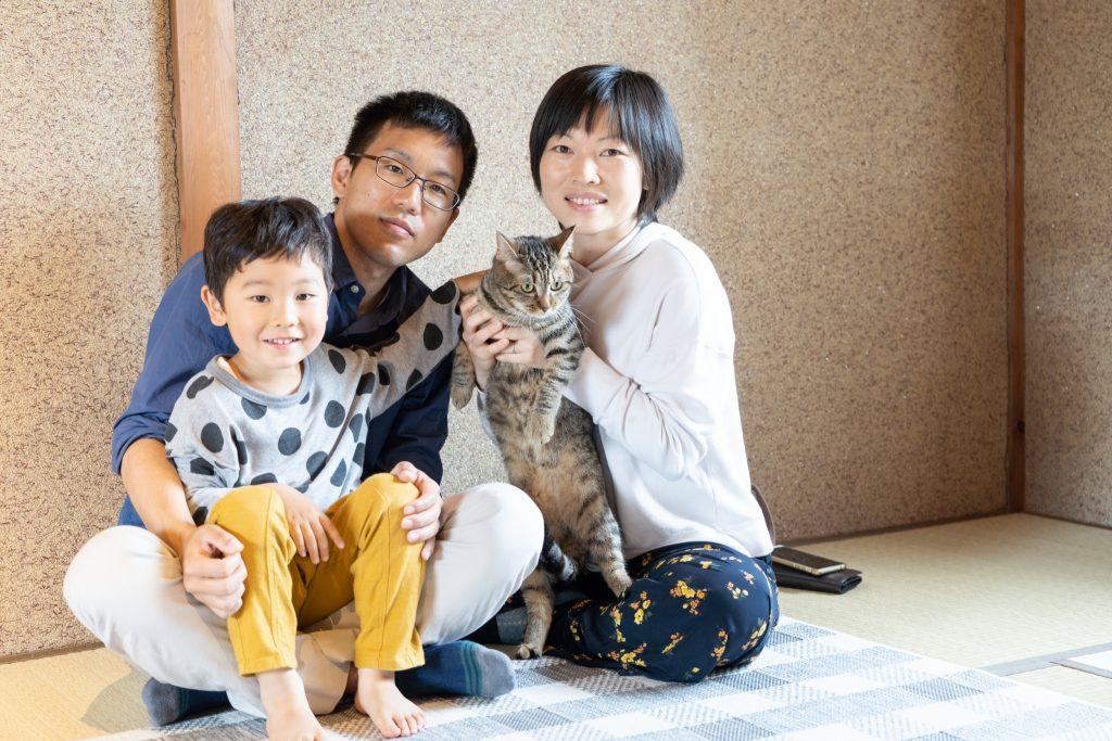 石川県のファミリー&ペット撮影